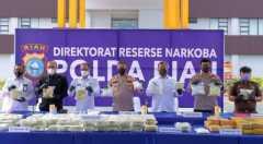 Polda Riau gagalkan penyelundupan 87 kg sabu-sabu